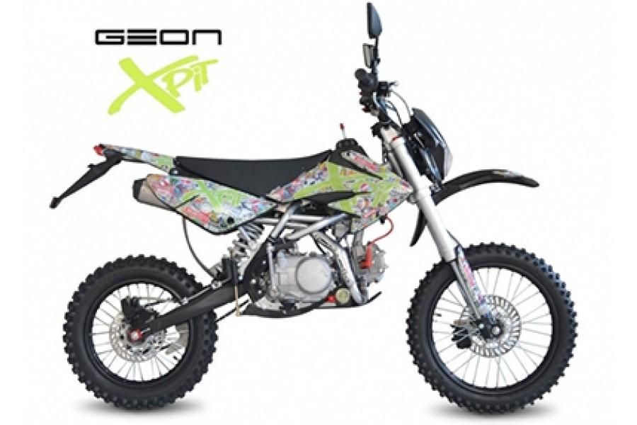 Обзор и характеристики Geon X-pit 125