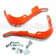 Защита на руль питбайка оранж