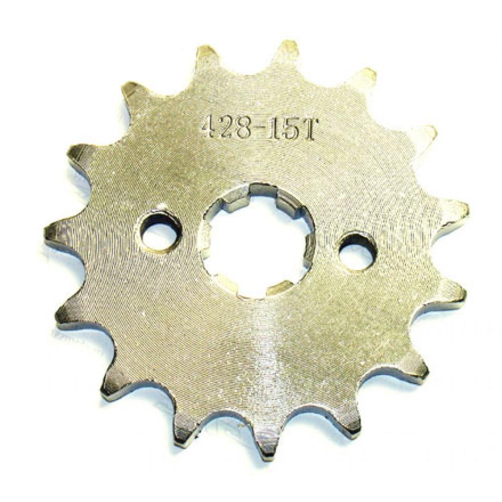 Передняя звезда на питбайки с двигателем YX125, 140-150 куб. см